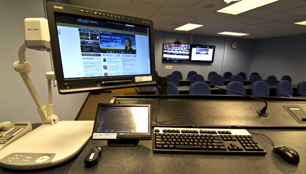 distance learning classroom