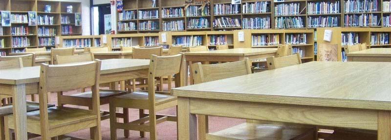 مكتبة خالية