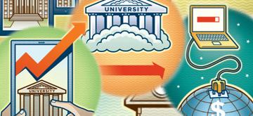الحوسبة السحابية في التعليم العالي