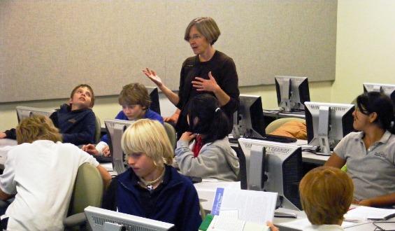Shelley Wright : استخدام الفصل العكسي
