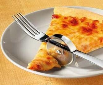 pizza fork cutter