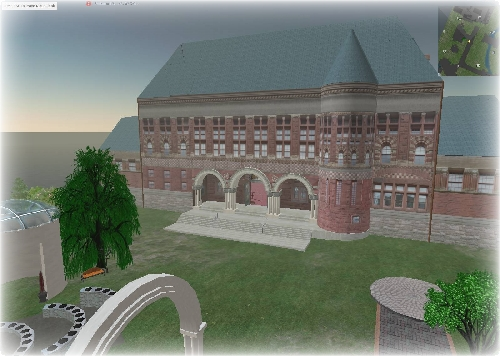 Harvard in second life