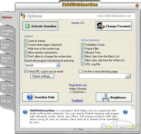 Child Web Guardian