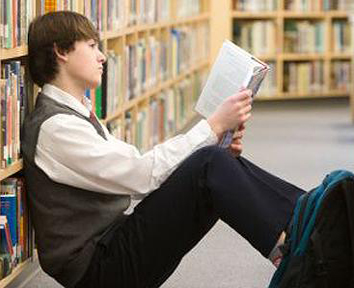 Student Read Book