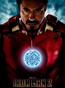 Iron Man QR codes