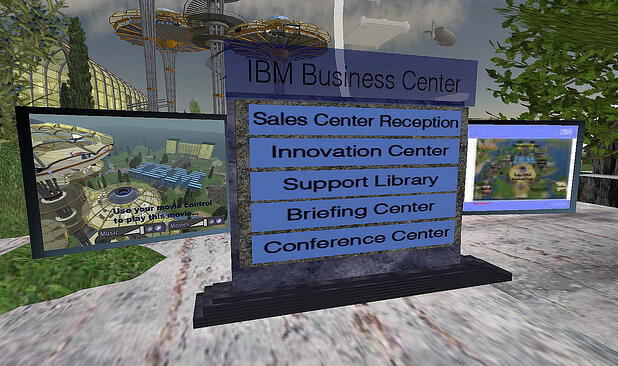 IBM's Business Center in Second Life
