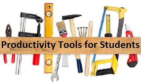 Productivity Tools for Students